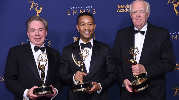 John Legend, Andrew Lloyd Webber And Tim Rice All Have EGOTs Now