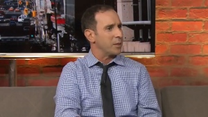 City councillor Josh Matlow talks with CP24 in this file photo.