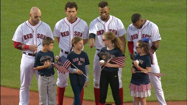 4e4b7dda6 MLB commemorates 9-11 anniversary with ballpark ceremonies   CP24.com