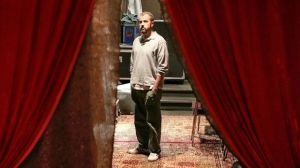 "In this May 14, 2008 file photo, James Frey, author of ""A Million Little Pieces,"" poses in the basement of the Blender Theater in New York. (AP Photo/Bebeto Matthews, File)"