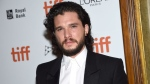 """Kit Harington attends the premiere for """"The Death and Life of John H. Donovan"""" on day 5 of the Toronto International Film Festival at the Winter Garden Theatre on Monday, Sept. 10, 2018, in Toronto. (Photo by Evan Agostini/Invision/AP)"""