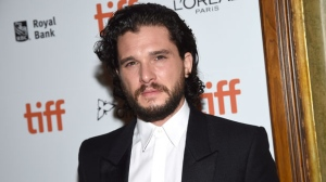 "Kit Harington attends the premiere for ""The Death and Life of John H. Donovan"" on day 5 of the Toronto International Film Festival at the Winter Garden Theatre on Monday, Sept. 10, 2018, in Toronto. (Photo by Evan Agostini/Invision/AP)"
