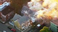 gas explosion boston