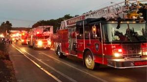 fire truck boston explosion