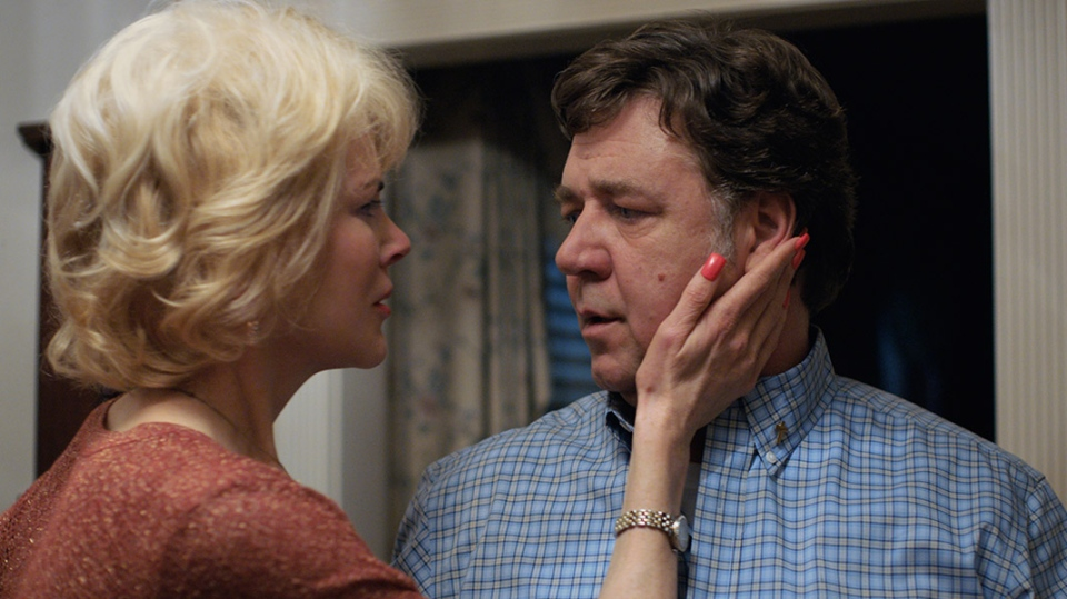 Nicole Kidman and Russell Crowe play parents trying to help their gay son 'change' in 'Boy Erased.' (Handout /TIFF)