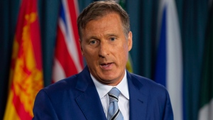 Maxime Bernier is shown in this file photo. THE CANADIAN PRESS/Adrian Wyld