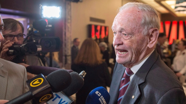 Former prime minister Jean Chrétien hospitalized in Hong Kong as a 'precaution'