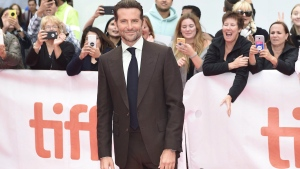 "Actor Bradley Cooper arrives on the red carpet for the film ""A Star is Born"" during the 2018 Toronto International Film Festival in Toronto on Sunday, September 9, 2018. All hype aside, Bradley Cooper's glossy directorial debut makes a strong case for his talent on both sides of the camera lens. THE CANADIAN PRESS/Nathan Denette"