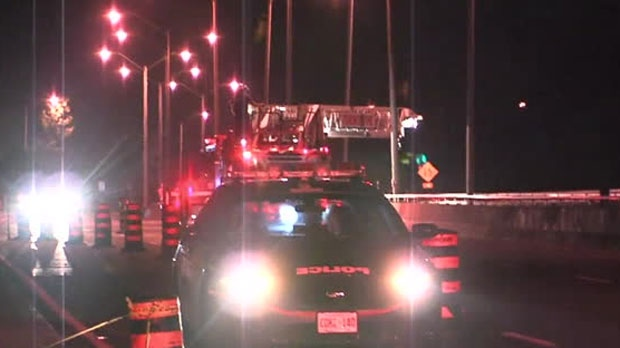 One man died following a fall on a bridge in Scarborough.