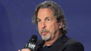 "Director Peter Farrelly attends a press conference to promote the movie ""Green Book"" during the 2018 Toronto International Film Festival in Toronto on Wednesday, September 12, 2018. THE CANADIAN PRESS/Fred Thornhill"