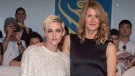 """Actors Laura Dern and Kristen Stewart attend a red carpet for the movie """" Jeremiah Terminator Leroy"""" during the 2018 Toronto International Film Festival in Toronto on Saturday, September 15, 2018. THE CANADIAN PRESS/Fred Thornhill"""