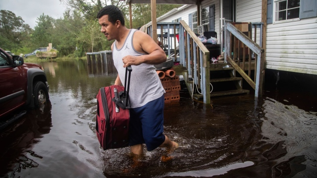 North Carolina gov pleads with storm evacuees to be patient