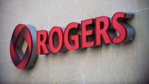 The Rogers Communications sign is marks the company's headquarters in Toronto, April 25, 2012. THE CANADIAN PRESS/Aaron Vincent Elkaim