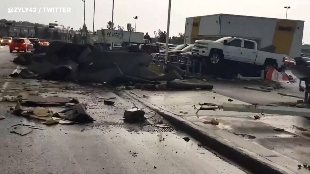 Widespread damage after tornado hits Ontario and Quebec