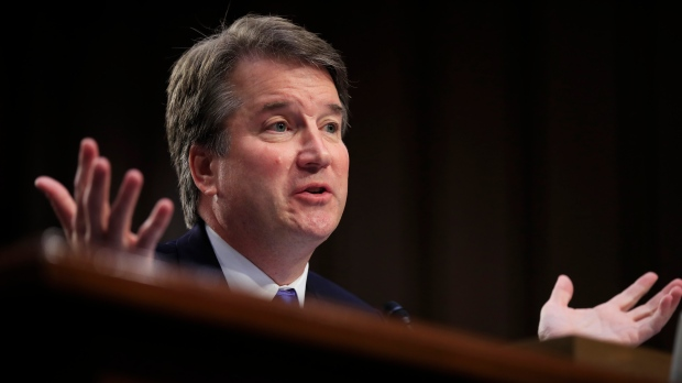 Court nominee Kavanaugh's accuser agrees to testify 'with conditions'