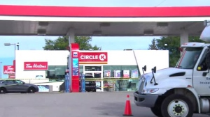 shooting, gas, station, Burlington