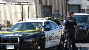 Police are investigating after a teen was reportedly shot to death in Hamilton. (Andrew Collins/ CP24)