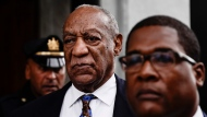 Bill Cosby departs from a sentencing hearing at the Montgomery County Courthouse, Monday, Sept. 24, 2018, in Norristown Pa. (AP Photo/Matt Rourke)