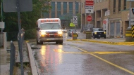 Two people suffered serious injuries after a shooting in Etobicoke this morning.