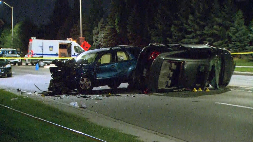 Man dead after Mississauga collision | CP24 com