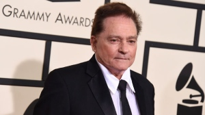 In this Feb. 15, 2016 file photo, Marty Balin arrives at the 58th annual Grammy Awards at the Staples Center in Los Angeles. Singer Balin of the Jefferson Airplane has died at age 76. Spokesman Ryan Romenesko said Balin died Thursday, Sept. 27, 2018, in Tampa, Fla., where he was on the way to the hospital. The cause of death was not immediately available. (Photo by Jordan Strauss/Invision/AP, File)