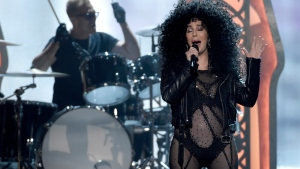 In this May 21, 2017 file photo, Cher performs at the Billboard Music Awards at the T-Mobile Arena in Las Vegas. (Photo by Chris Pizzello/Invision/AP, File)