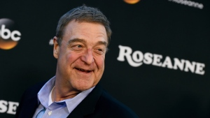 """In this March 23, 2018, file photo, John Goodman arrives at the Los Angeles premiere of """"Roseanne"""" in Burbank, Calif.  (Photo by Jordan Strauss/Invision/AP, File)"""