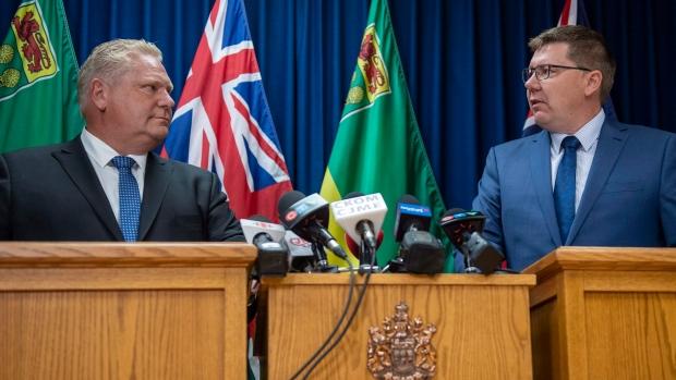 Prime Minister Trudeau defends carbon tax plan as provinces push back