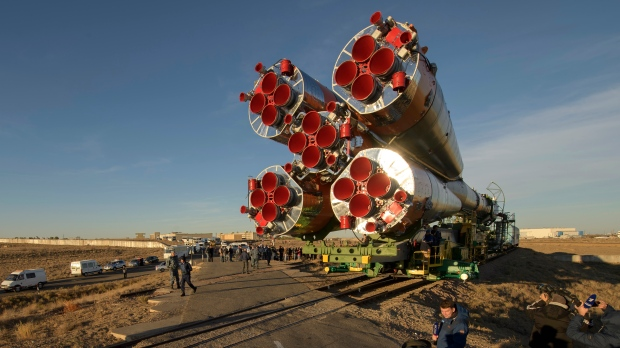 ISS crew in 'good condition' after failed space launch