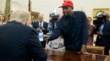 Kanye West President Donald Trump