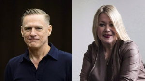 This composite image shows Bryan Adams and Jann Arden. (The Canadian Press)