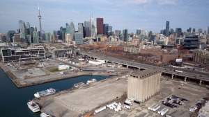 Toronto's eastern waterfront area is seen in this undated handout photo. THE CANADIAN PRESS/HO, Sidewalk Labs