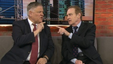 Norm Kelly and Jim Karygiannis