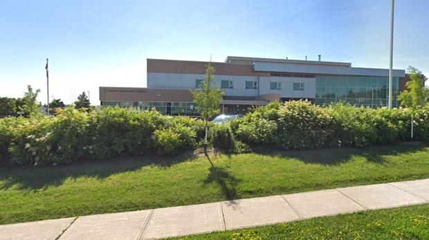 Joshua Creek Public School is shown in a Google Streetview image.