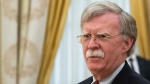 FILE - In this Wednesday, June 27, 2018 file photo, U.S. National security adviser John Bolton waits for the talks with Russian President Vladimir Putin in the Kremlin in Moscow, Russia. (AP Photo/Alexander Zemlianichenko, Pool)