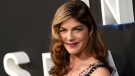 "In this April 9, 2018 file photo, Selma Blair arrives at the Los Angeles premiere of ""Lost in Space"" at the ArcLight Cinerama Dome. The film and TV actress has announced she is dealing with a diagnosis of multiple sclerosis. In a post Saturday, Oct. 20, 2018 on her Instagram account, Blair, 46, says she was diagnosed with the disease of the central nervous system on Aug. 16. (Photo by Chris Pizzello/Invision/AP, File)"