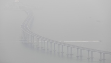 China-Zhuhai-Macau-Hong Kong Bridge
