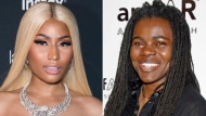 This combination photo shows Nicki Minaj at the Harper's BAZAAR 'Icons by Carine Roitfeld' party in New York on Sept. 8, 2017, left, and Tracy Chapman at a benefit event on behalf of amfAR (American Foundation for AIDS Research) in New York on Jan. 31, 2007.  (AP Photo)