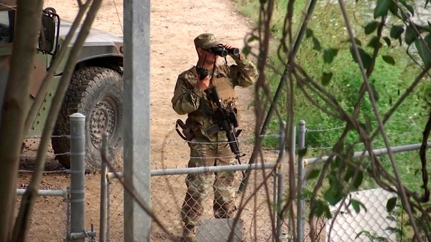 At least 800 troops to be sent to US-Mexico border