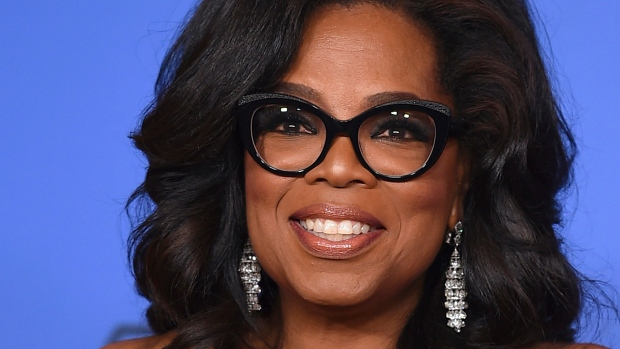 Oprah doorknocks in support of possible first black female U.S.  governor