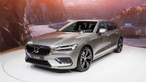 The new Volvo V60 is presented during the press day at the 88th Geneva International Motor Show in Geneva, Switzerland, Wednesday, March 7, 2018. Major automakers are preparing for a future where drivers might not want to own the cars they use. THE CANADIAN PRESS/Cyril Zingaro/Keystone via AP