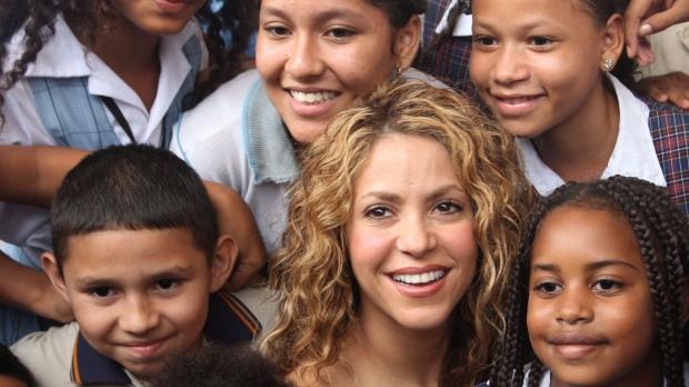 Colombian pop star Shakira