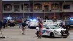Police investigators work the scene of a shooting, Friday, Nov. 2, 2018, in Tallahassee, Fla. (Tori Schneider/Tallahassee Democrat via AP)