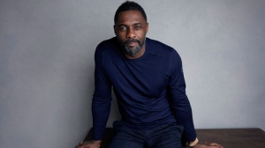 "Director Idris Elba poses for a portrait to promote the film ""Yardie"" at the Music Lodge during the Sundance Film Festival on Sunday, Jan. 21, 2018, in Park City, Utah. (Photo by Taylor Jewell/Invision/AP)"