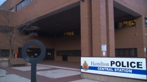 The Hamilton Police Central Station is seen in this undated photograph.