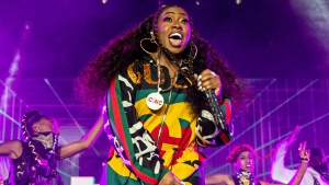 In this July 7, 2018 file photo, Missy Elliott performs at the 2018 Essence Festival in New Orleans. (Photo by Amy Harris/Invision/AP, File)