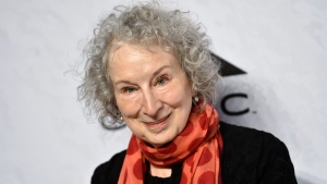 Author Margaret Atwood attends Variety's Power of Women: New York event at Cipriani Wall Street on Friday, April 13, 2018, in New York. (Photo by Evan Agostini/Invision/AP)