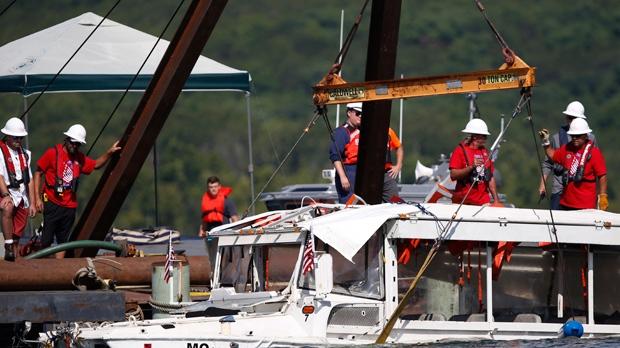 Fatal duck boat incident