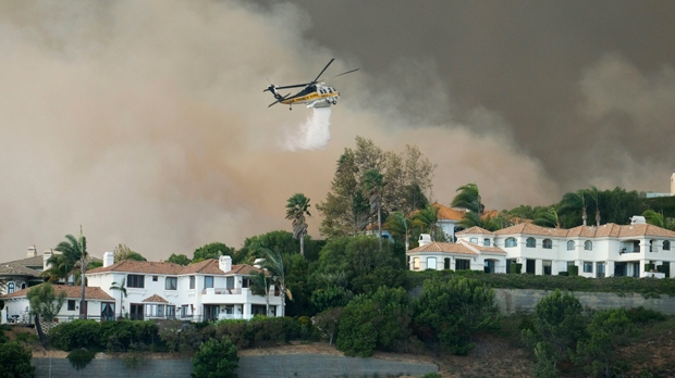 Malibu fire
