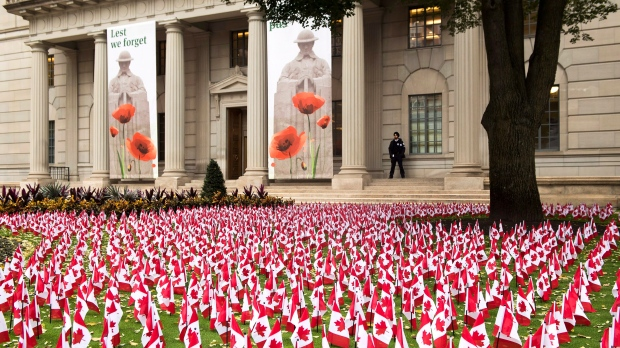Canadians mark Remembrance Day, 100 years since end of First World War